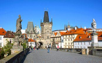Прогулка по Праге от Карлова моста до Вацлавской площади