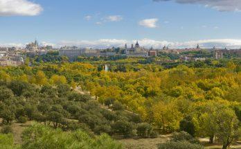Парк Каса-де-Кампо в Мадриде