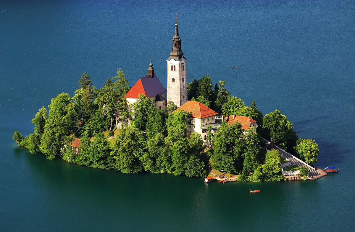 озеро блед словения фото