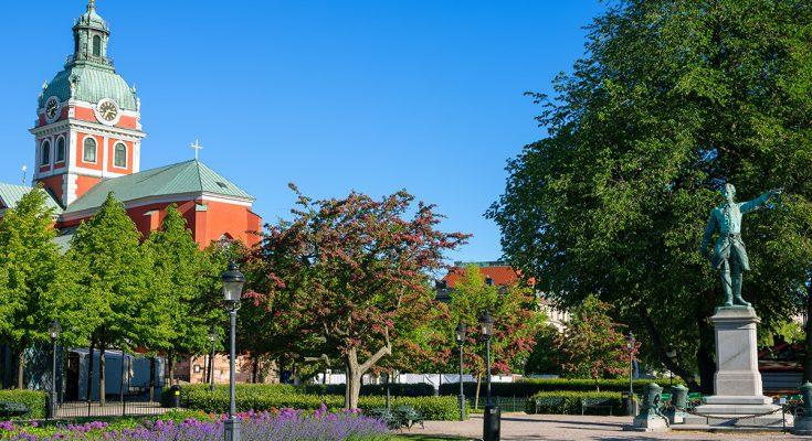 Площадь Карла XII в Стокгольме