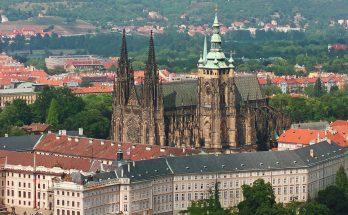Вид на собор Святого Вита