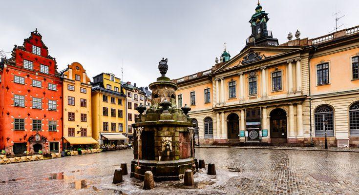 Экскурсия по Старому городу Стокгольма