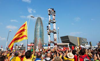 Каталонские живые башни Кастель