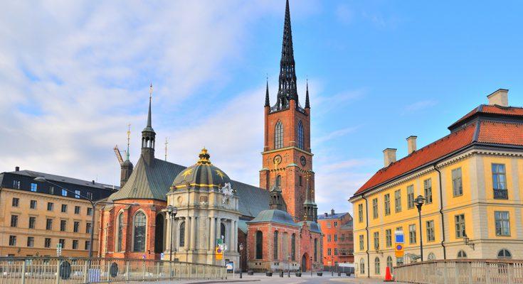 Церковь Риддархольмена в Стокгольме