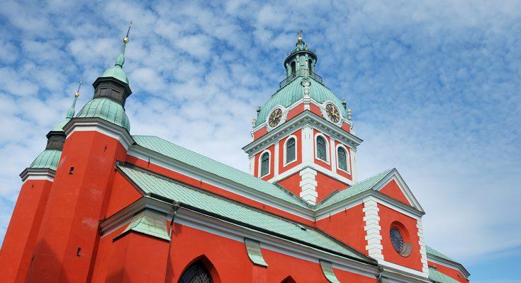 Церковь Святого Якоба в Стокгольме
