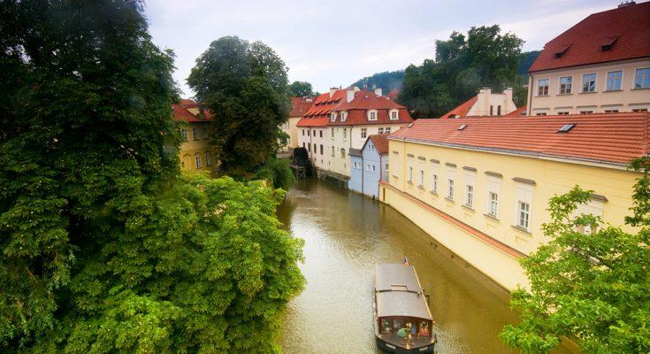 Остров Кампа в Праге. Чертовка в Праге