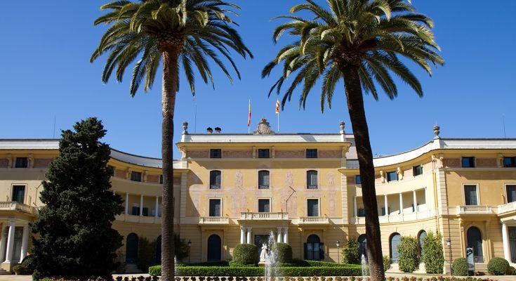 Королевский дворец Педральбес в Барселоне