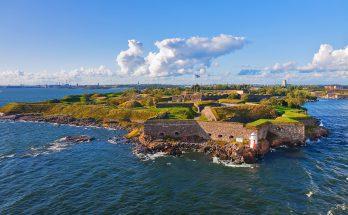 Крепость Суоменлинна в Хельсинки