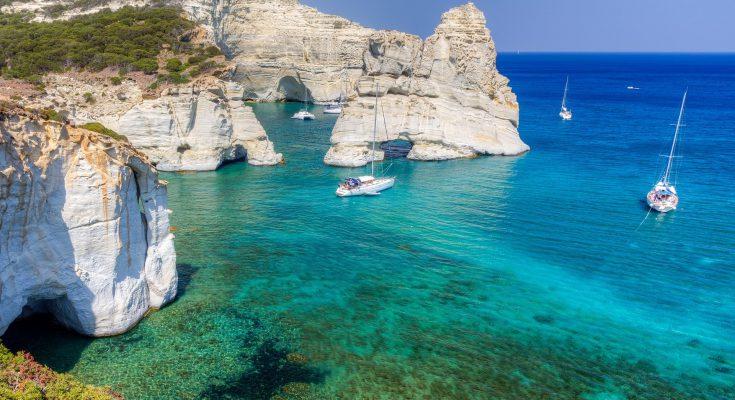 Остров Милос в Греции