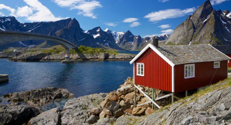 Остров Хамнёй в Норвегии
