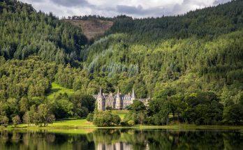 Озеро Акрей в Шотландии