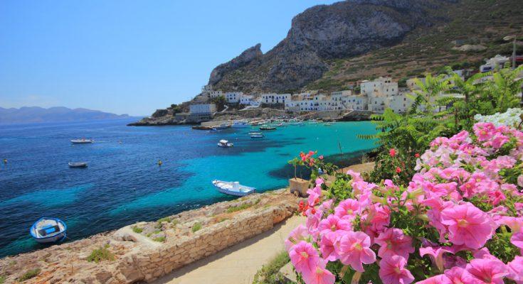 Остров Леванцо в Италии