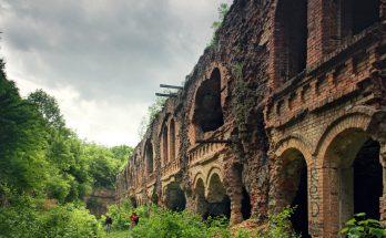 Таракановский форт в Украине