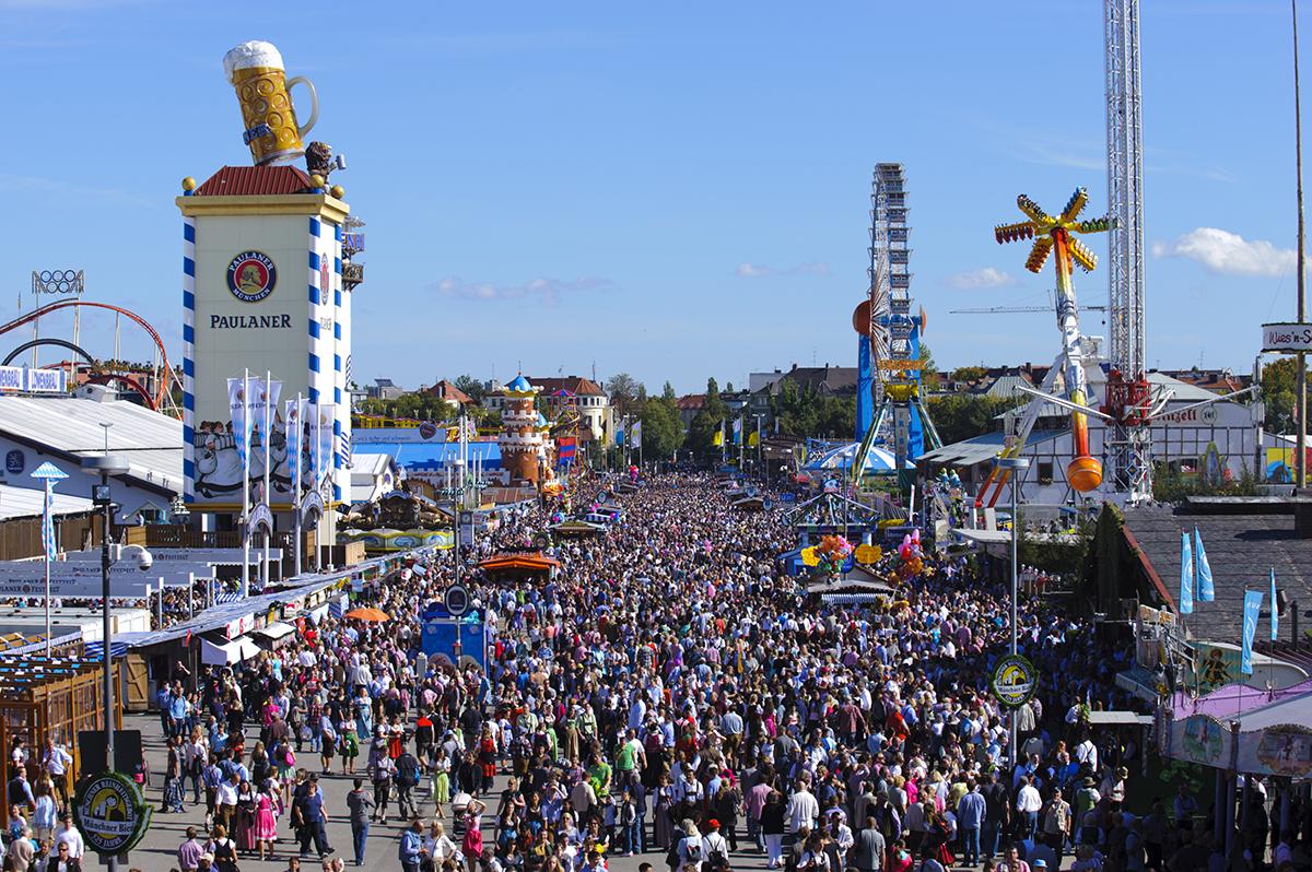 Фольклорный фестиваль Октоберфест
