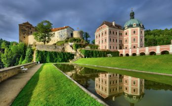 Замок Бечов-над-Теплоу в Чехии