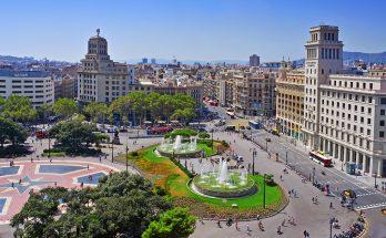 Городские площади Барселоны