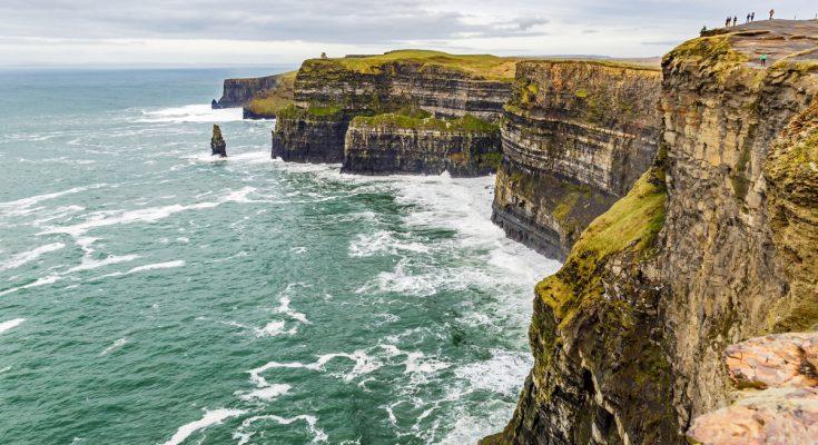 Утёсы Мохер в Ирландии