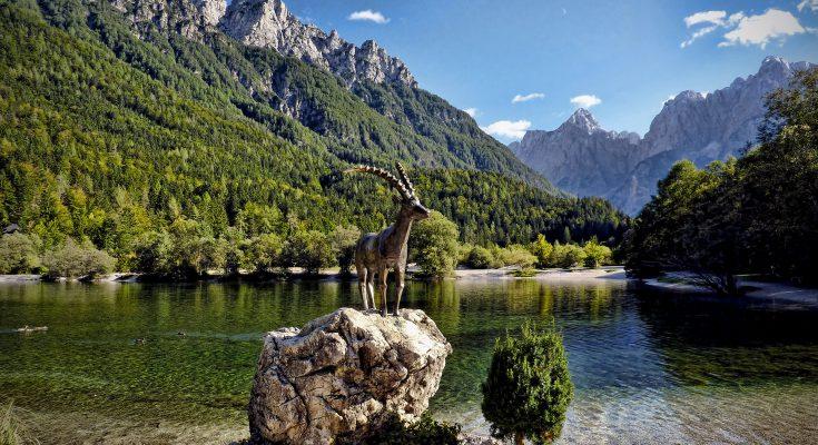 Озеро Ясна в Словении