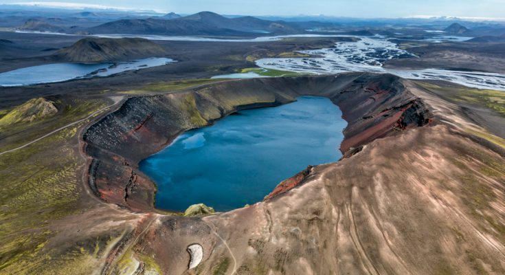 Озеро Льйотиполлур в Исландии
