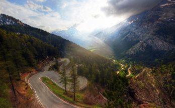 Перевал Малоя в Швейцарии