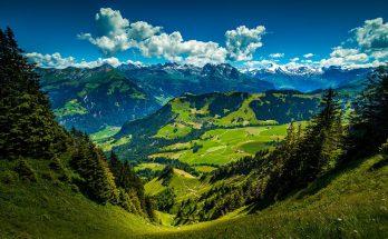 Гора Штансхорн в Швейцарии