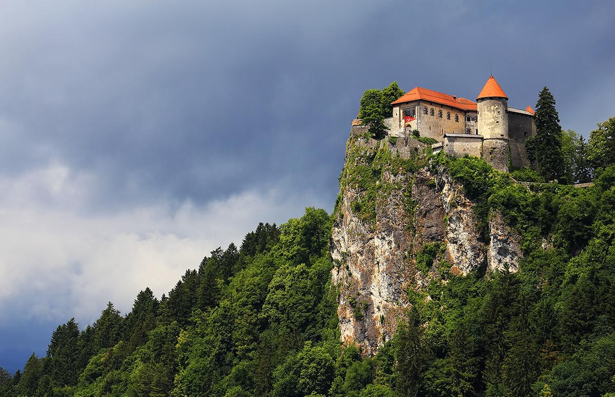 Бледский замок в Словении